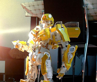 Papercraft Bumblebee Transformer - Finished